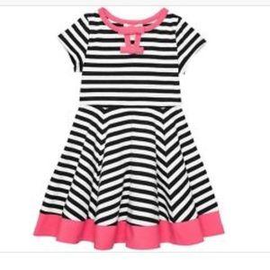 KATE SPADE NWT Girls DRESS STRIPE/WATERMELON sz4